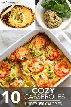 10 Cozy Casseroles Under 350 Calories