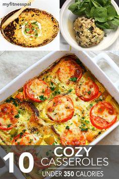 10 Cozy Casseroles Under 350 Calories