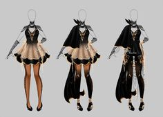 Hi folks! Commission outfit for dear For the texture I uded Sai brushes made by:  Hope you like them! And if you are interested in commission me read this journal!: Co...