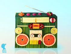 Veggie & Fruit Boombox