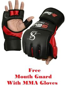 Be Smart Gel MMA UFC Grappling Gloves Fight Boxing Punch Bag Kick Muay Thai Gym