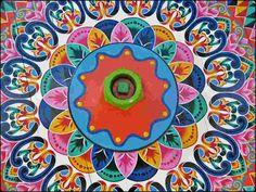 Color oxcart wheel