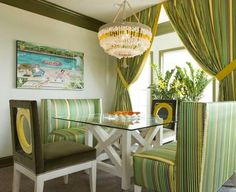 spring decorating with floral designs and green leaves patterns