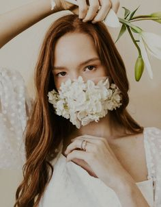 Bridal portrait with a fresh floral face mask Bridal Portrait Poses, Country Garden Weddings, English Country Gardens, Wedding Dress Boutiques, Garden Wedding Inspiration, Most Beautiful Images, Bridal Pictures, Bride Makeup, Bridal Looks
