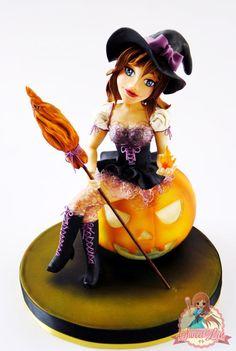 Lolita Witch - Cake by SweetLin