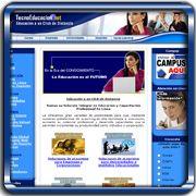 Organización:   TecnoEducacion.Net;   Ubicación:   Maracay;   Enlace:   http://www.tecnoeducacion.net;   Segmento:  Servicios Educativos;   Año:   2004