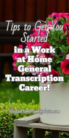 Tips on starting a work at home general transcription career, as well as a list of 10 companies hiring home-based transcriptionists and helpful resources. Work From Home Tips, Make Money From Home, Make Money Online, How To Make Money, Home Websites, Home Based Business, Business Ideas, Online Business, Stay At Home Dad