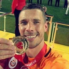 Congrats @poldi_official!  #Podolski #Poldi #Galatasaray #Cimbom #TurkishCup