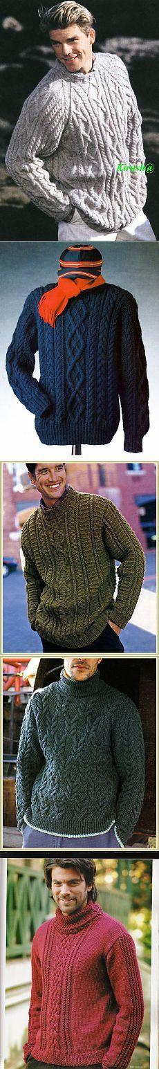 chandail tricoté pour homme