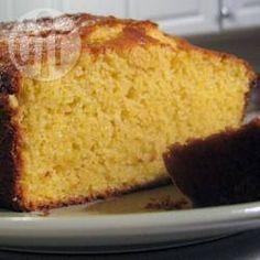 Bolo de milho Allrecipes, Banana Bread, Desserts, Education, Food, Sweet Pastries, Dessert, Food Drink, Restaurant