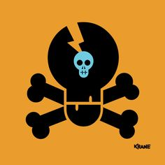 Skully 2/4 (by #krane) Crane, Skull, Sugar, Movies, Movie Posters, Art, Art Background, Films, Film Poster