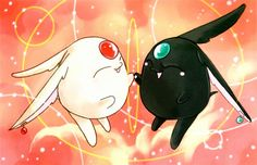 """Mokona is Mokona, you would count them 1,2... and then you would stop, there's only 2"""