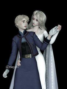 Frozen Queen, Queen Elsa, Disney Princess Art, Disney Art, Frozen Drawings, Disney Frozen Elsa, Princess Collection, Drawing Reference Poses, Cute Disney