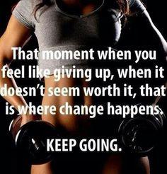Motivación... keep going!!!!