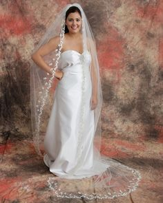 The Bridal Veil Company Style: 769 $600.00  http://www.bestbridalprices.com/the-bridal-veil-company-veils-style-769-p87783