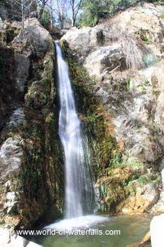 Soldier Creek Falls (Angeles National Forest / Crystal Lake, California, USA)