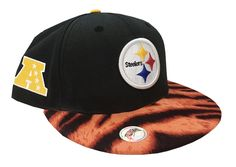 New Era Customized Pittsburgh Steelers Snapback Hat