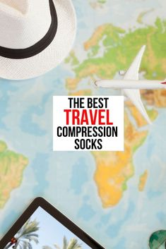 If you fly a lot or if you're flying on long flights you gotta check out compression socks. They help keep the circulation flowing in your legs while sitting or standing for long periods of time. They are great for traveling because they help when you are flying and when you're walking around the place you're exploring. They help keep your feet energized and feeling good all day long.  #compressionsocks #travelsocks