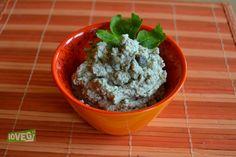 patè di olive tofu e capperi