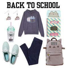 """""""#PVxPusheen"""" by londero-danielle ❤ liked on Polyvore featuring Gund, Pusheen, Keds, Aerie, contestentry and PVxPusheen"""