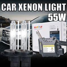 1 Set xenon H7 55W HID Kit H1 H3 H4 H11 9005 HB3 9006 HB4 881 H27 Slim Ballast 4300K 5000K 6000K  8000K 10000K 30000K h7 xenon * For more information, visit image link.