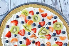 Make this delicious Sugar Cookie Fruit Pizza and you will not be disappointed! This Easy Fruit Pizza Recipe is amazing! You will love this fruit pizza with sugar cookie crust. Fruit pizza recipe sugar cookie will be a hit. Easy Sugar Cookies, Sugar Cookie Dough, Sugar Cookies Recipe, Cookie Recipes, Cookie Crust, Cookie Pizza, Cookie Desserts, Fruit Pizza Cups, Fruit Pizza Frosting