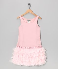 adorable pink dress on zulily today!
