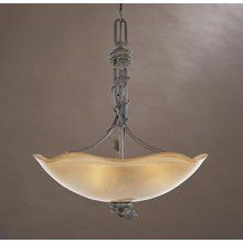 Designers Fountain 95683 Rustic / Country Three Light Up Lighting Mini Chandelier from the Timberline Collection