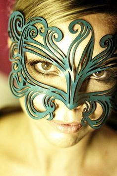 leather muse mask for mardi gras