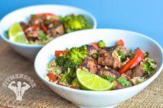 Spicy Beef Broccoli Bowl