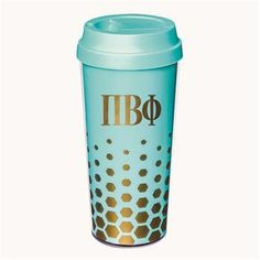 Kappa Kappa Gamma coffee tumbler comes in your sorority colors shown. Rush service is available. Add this piece to your greek accessories collection today by shopping with Something Greek and save money. Phi Sigma Sigma, Kappa Kappa Gamma, Alpha Xi Delta, Sorority Bid Day, Sorority Gifts, Sorority And Fraternity, Greek Gifts, Pi Beta Phi, Coffee Tumbler