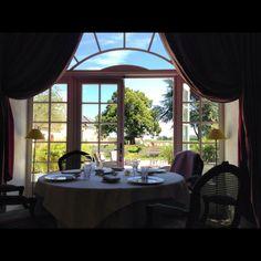 Invitation au calme et à la volupté au restaurant du Chais au Manoir de Restigné