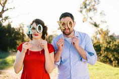 DIY Glitter Valentines Day Props