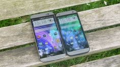 HTC One Mini 2 vs HTC One M8 | HTC's shrunk down M8 has arrived and it certainly looks the part, but how does it compare to the HTC One M8? Buying advice from the leading technology site