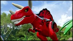 LEGO Jurassic World - DEADPOOLREX!