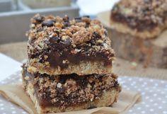 Troll a konyhámban: Carmelita szelet, karamelles csokis morzsás süti - vegán, paleo