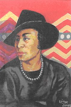 Zora Neale Hurston by Lois Mailou Jones