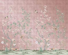 This Chinoiserie Wallpaper Is Temporary, Affordable, and Basically a Dream Come True-- Affordable Temporary Chinoiserie Wallpaper Wallpaper Panels, Fabric Wallpaper, Of Wallpaper, Designer Wallpaper, Bedroom Removable Wallpaper, Classy Wallpaper, Interior Wallpaper, Wallpaper Designs, Pattern Wallpaper