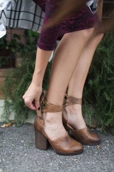 Cora Wrap Heel styled by fp_madeline on FP Me.
