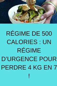 RÉGIME DE 500 CALORIES : UN RÉGIME D'URGENCE POUR PERDRE 4 KG EN 7 ! #RÉGIME #D'URGENCE #PERDRE 500 Calories, Metabolism, Weight Loss Tips, How To Lose Weight Fast, Green Beans, Vegetables, Ethnic Recipes, Cellulite, Food