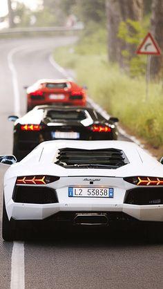 Lamborghini Cars 2 iPhone 5 Wallpaper