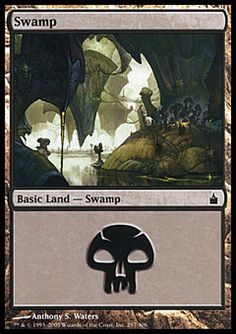 Swamp (3) ($.01) Price History from major stores - Ravnica (Foil) - MTGPrice.com Values for Ebay, Amazon and hobby stores!