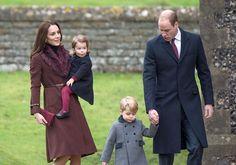 Vévoda a vévodkyně z Cambridge s dětmi Georgem a Charlotte