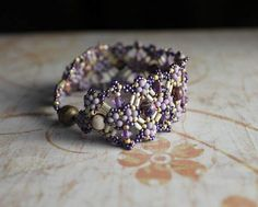 Hand Beaded Bracelet done with Impression Jasper and  by pjlacasse, $85.00