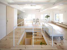 looks like a basement a bit...I like it