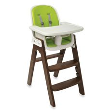 Mike's favorite highchair-- Oxo Tot Sprout High Chair and Accessories - Green/Walnut