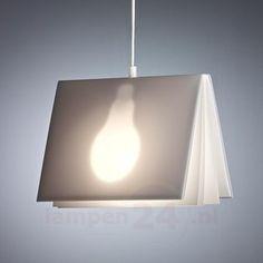 Pendellamp Booklight van Vincenz Warnke 9030085, 170 euro