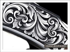 งานศิลป์ งานฝีมือ Best Sleeve Tattoos, Leg Tattoos, Arm Band Tattoo, Body Art Tattoos, Skull Rose Tattoos, Filagree Tattoo, Gravure Metal, Jagua Henna, Ornament Drawing