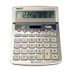 Datexx® 12-Digit Desktop Calculator