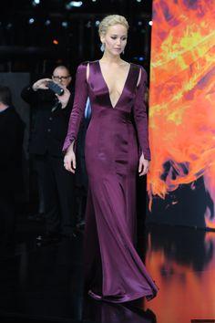 Jennifer Lawrence dress// 2015 Mockingjan 2 Berline